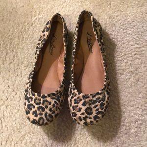 Lucky Brand Cheetah Ballet Flats